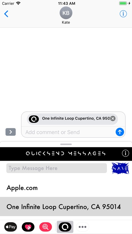 QuickSend Messages screenshot-3