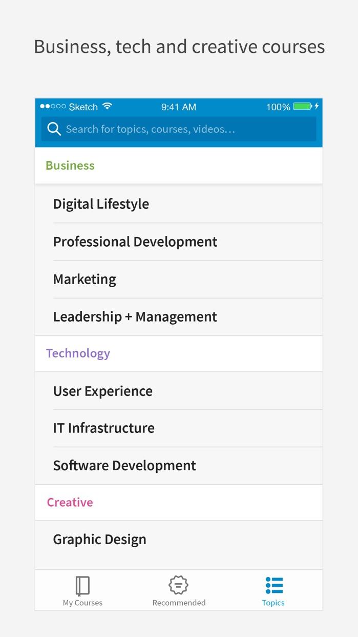 LinkedIn Learning Screenshot