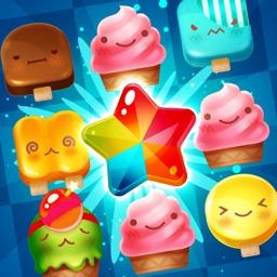 Ice Cream Mania:Match 3 Puzzle
