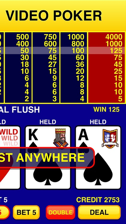 Video Poker Classic - 39 Games screenshot-1
