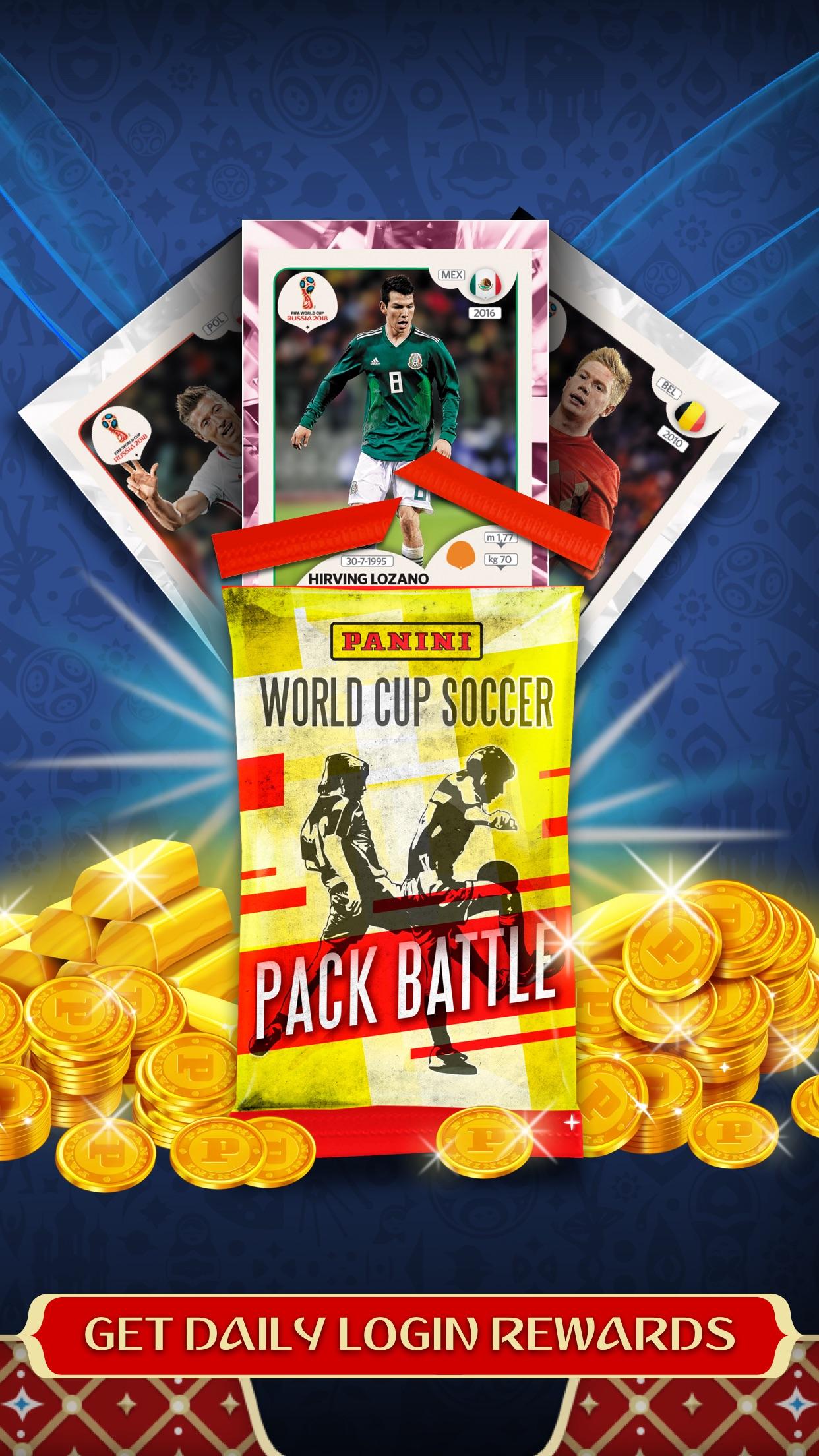 FIFA World Cup 2018 Card Game Screenshot