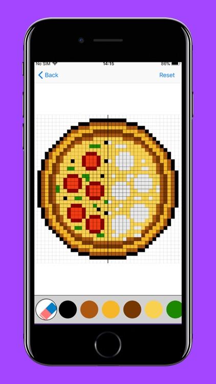 Pixel Art Puzzles Coloring screenshot-7