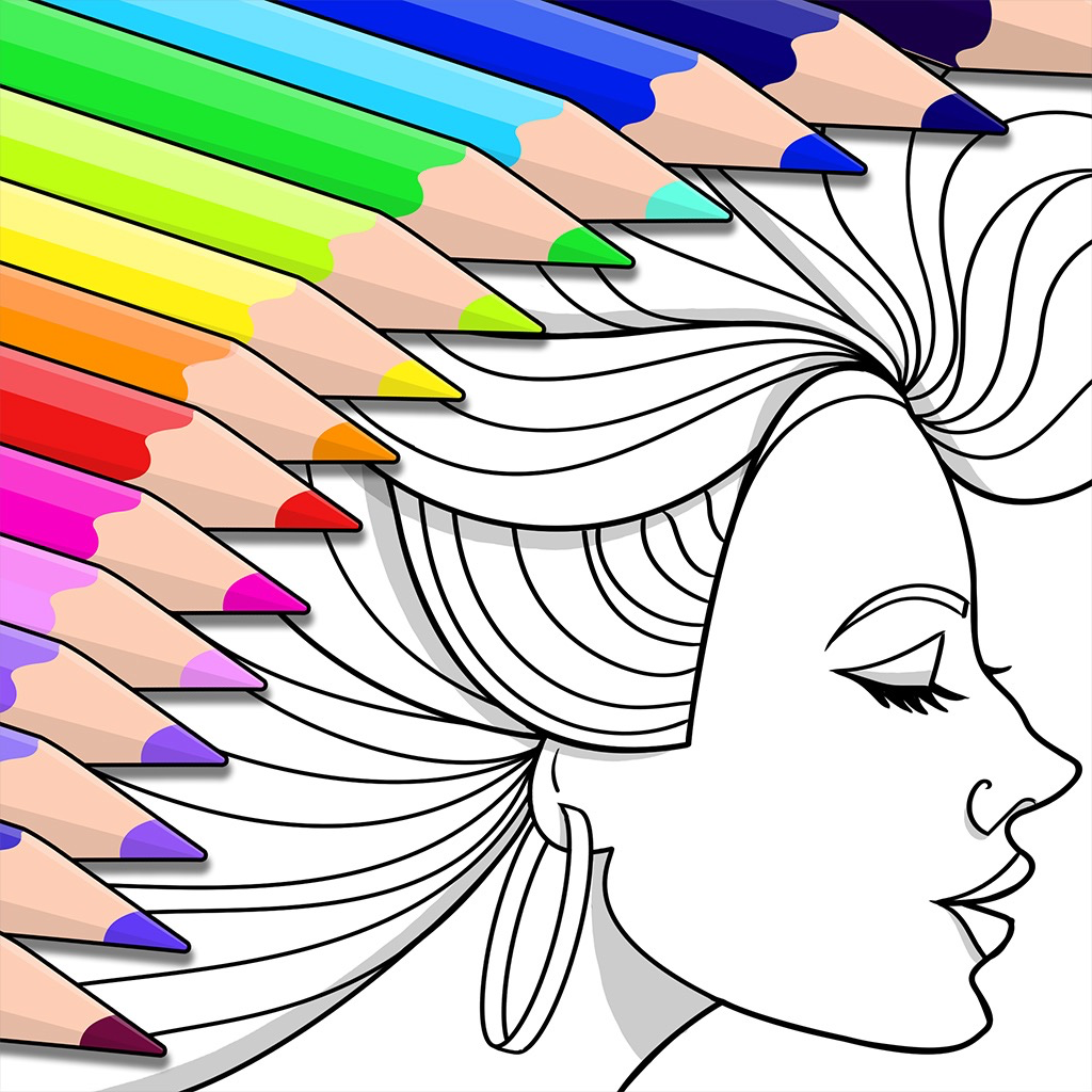 Colorfy Coloring Book Games IOS App Store