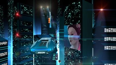 Neon Drive - '80s style arcade Screenshot on iOS