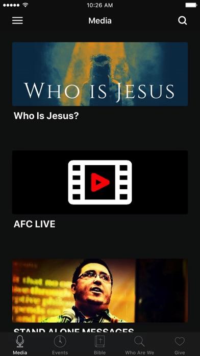 Angier Fellowship Church screenshot 1