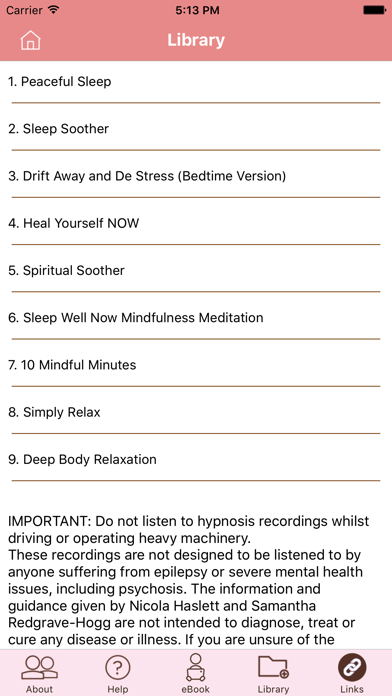 Peaceful Sleep Hypnosis Full Versionのおすすめ画像3