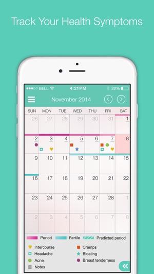 period tracker calendar