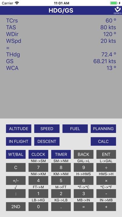 Flight Navigation Calculator screenshot-3