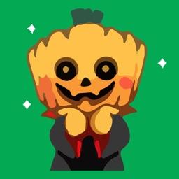 Weirdo Halloween Emoji Sticker
