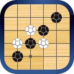 足球五子棋