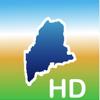 Aqua Map Maine Lakes GPS HD