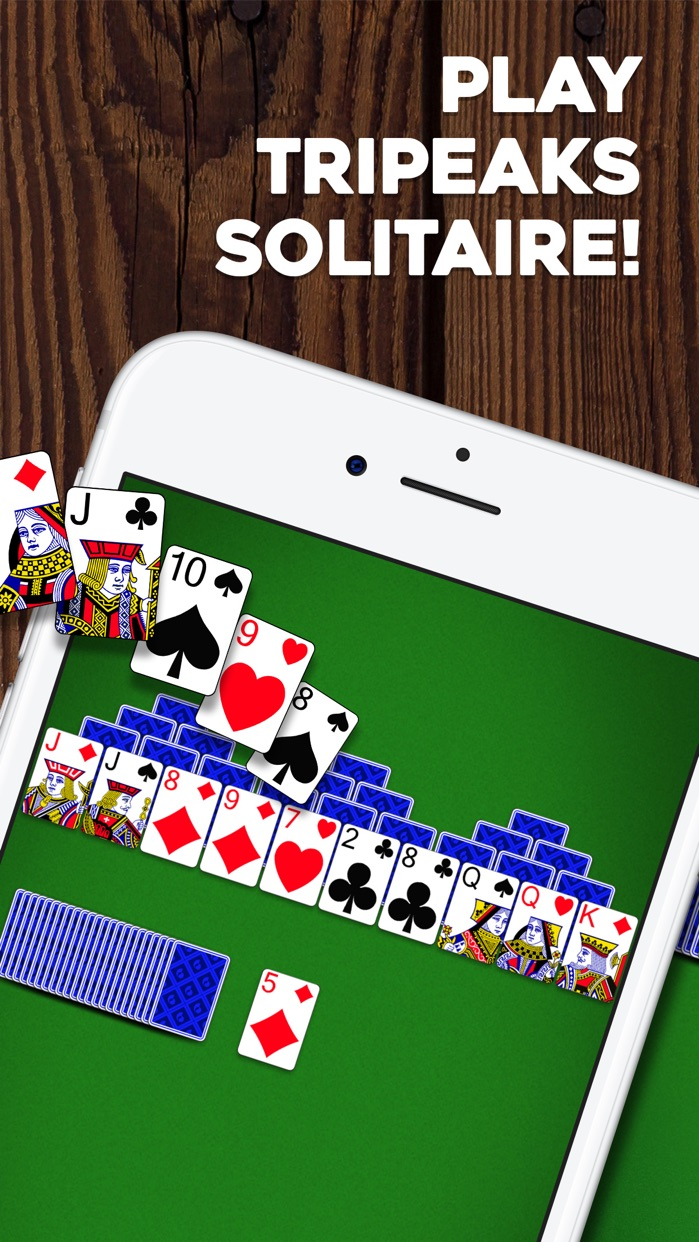 TriPeaks Solitaire: Card Game Screenshot