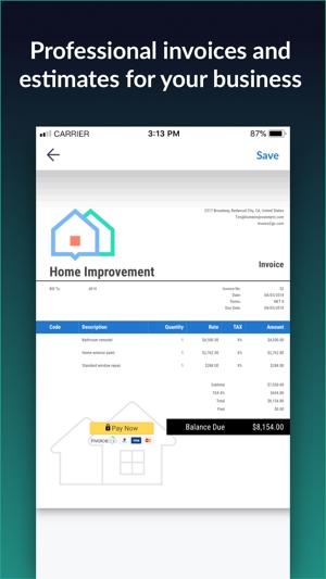 Invoice Go Invoice Estimate On The App Store - Invoice 2 go