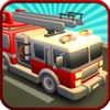 911 Fire Brigade Truck Driving
