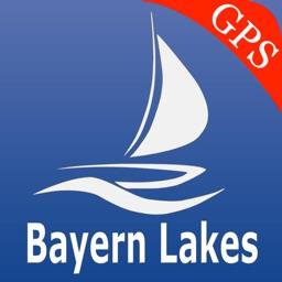 Bavaria Lakes GPS Charts