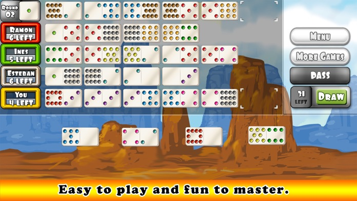 Mexican Train Dominoes Gold Screenshot