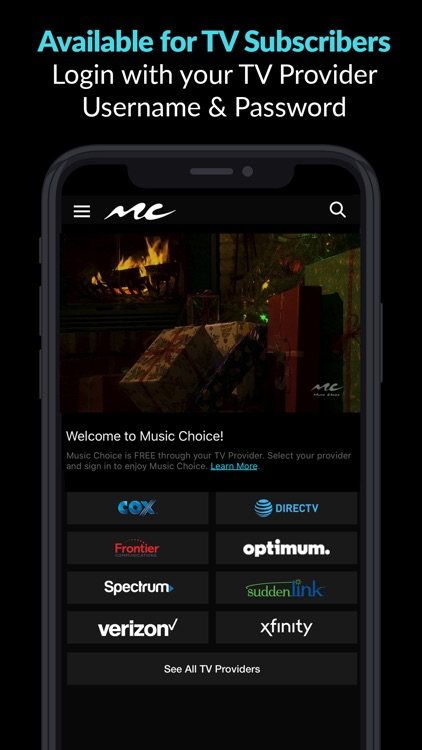 Music Choice - Christmas Radio screenshot-3