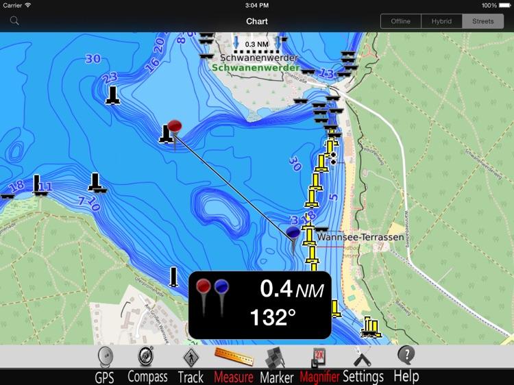 Berlin Lakes GPS Chart Pro