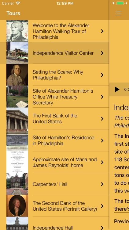 Alexander Hamilton Tours screenshot-3