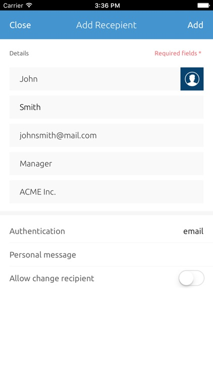 eSignLive - Sign Documents Now