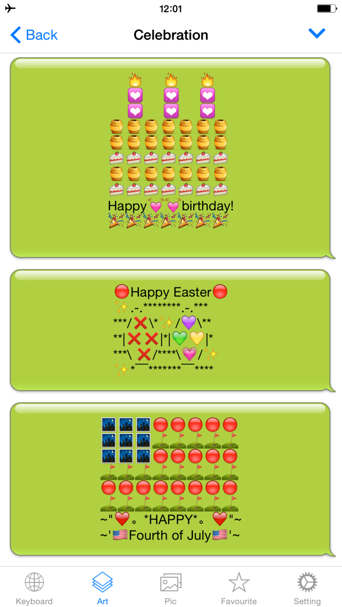 Emoji Keyboard Emojis Me Maker Screenshot