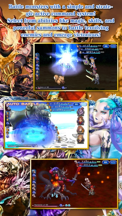 FINAL FANTASY DIMENSIONS II screenshot-4