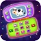 The Baby phone toy is a fun, educational learning game for kids to learn numbers, animal, nursery rhymes, Fruits, birds, colors, shapes, musical instruments, and toys