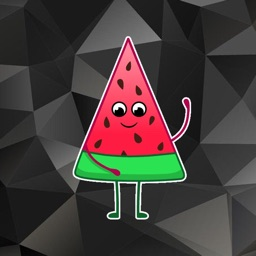 Funny Melon Stickers