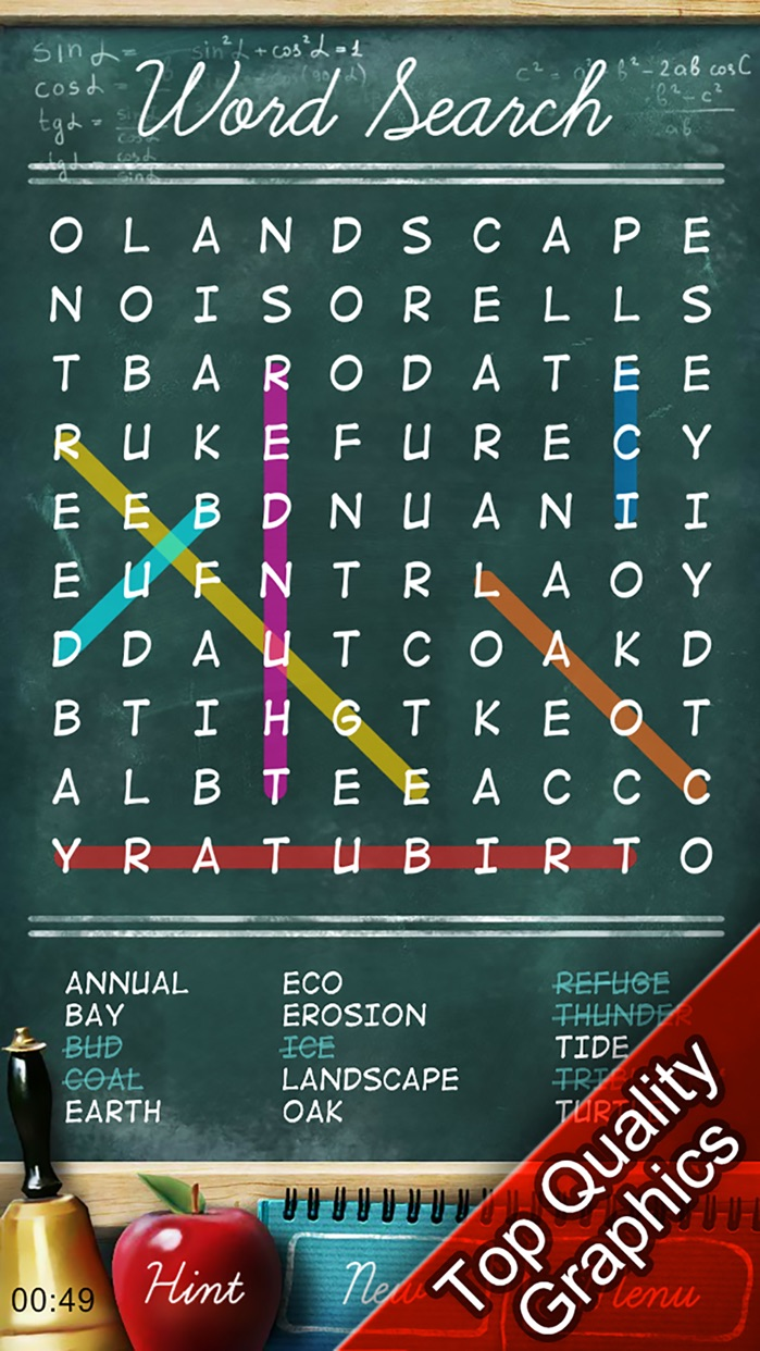Daily Word Search Puzzles Screenshot