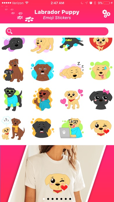 Welcome Stickers Screenshots