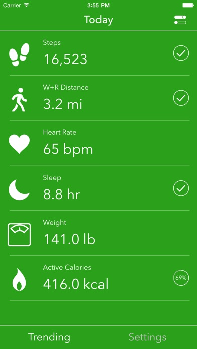 点击获取Dashboard for Apple Health App