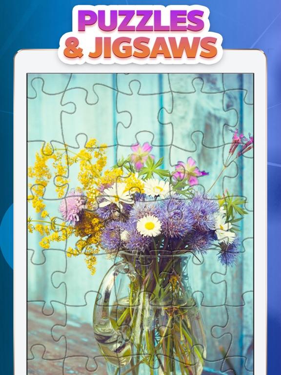 Jigsaw puzzle - Magic World на iPad