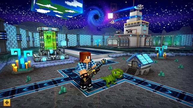 Pixel Gun D Battle Royale On The App Store - Minecraft shooter spiele