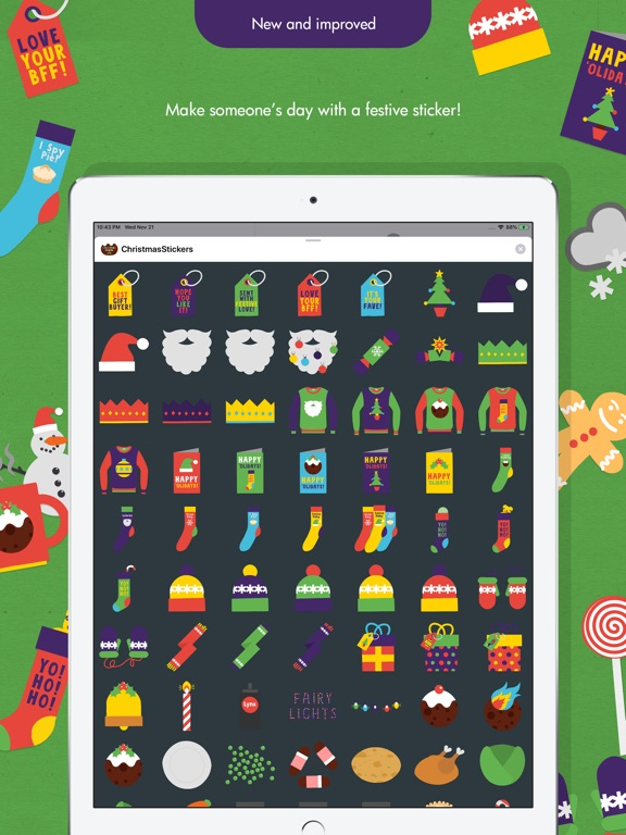 Ibbleobble Christmas Stickers screenshot 11