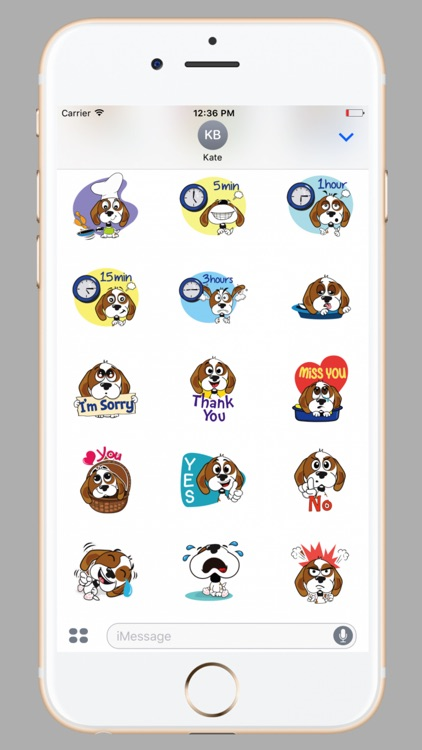 Adorable Pug Stickers screenshot-0