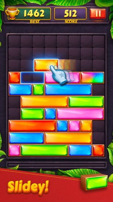 Jewel Blast - Block Drop Puzzl Screenshot 1