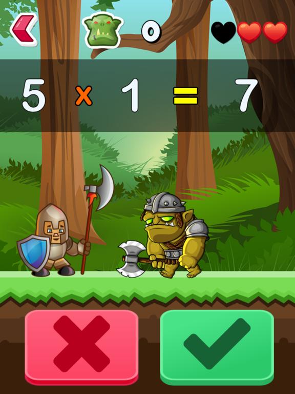Math Vs Orcs Math Workout App Price Drops