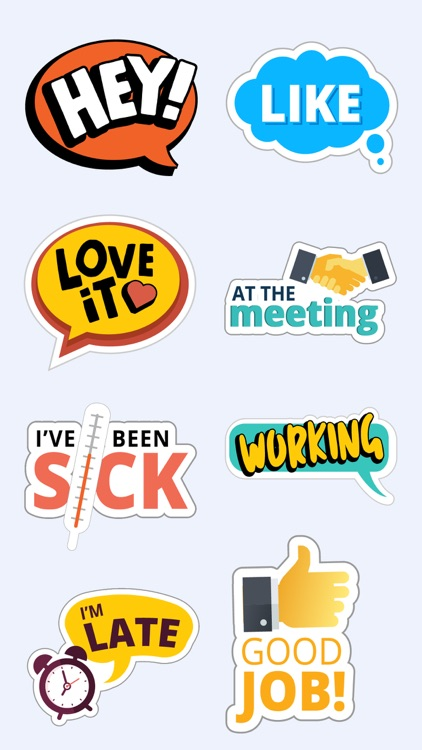 Fun Text Stickers for iMessage