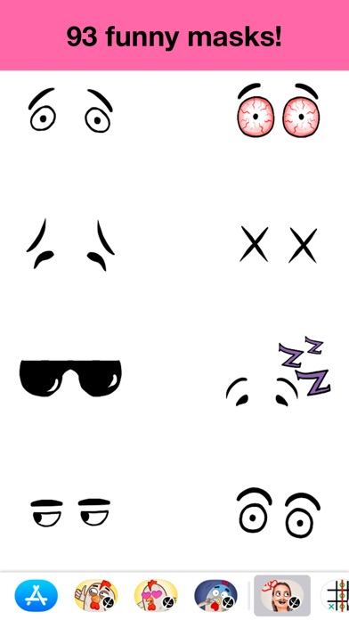Masks - Stickers for funのスクリーンショット3