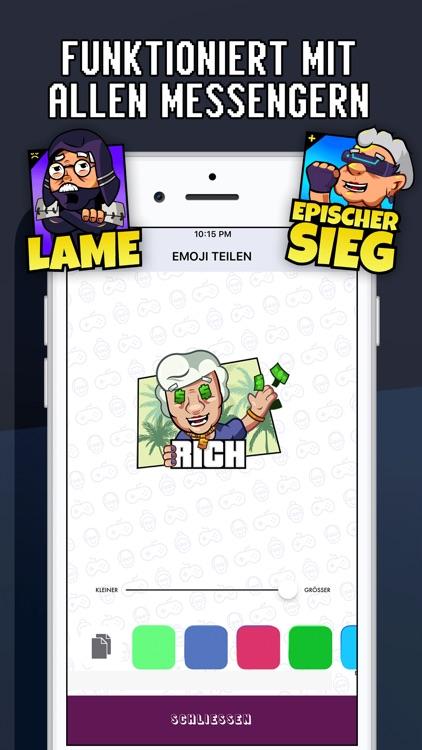 Senioren Zocken Emojis App screenshot-4