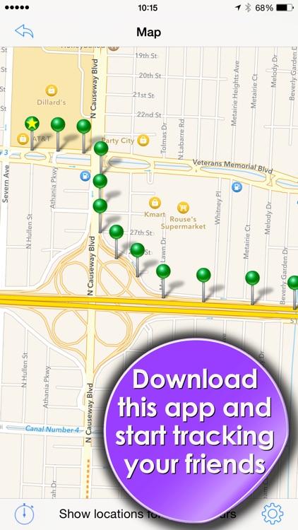 Phone Tracker for iPhones: GPS screenshot-4