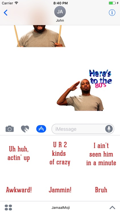 JamMOJI by Jamaal Curry screenshot-3