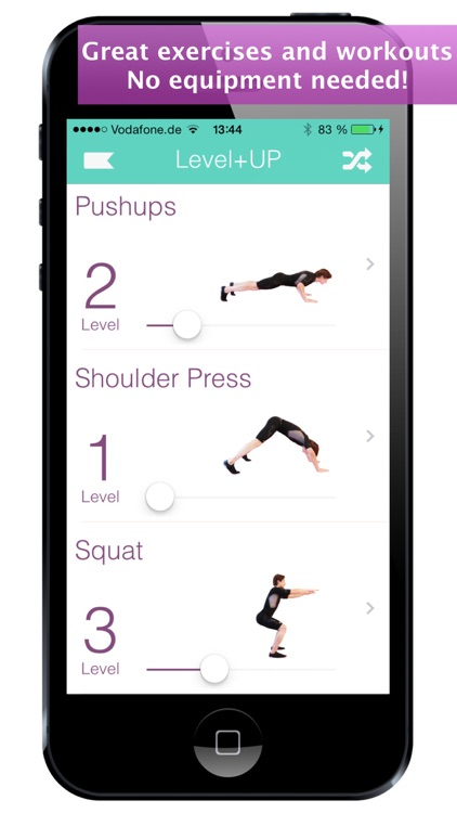 Level+Up Bodyweight Workout, Exercise and Fitness