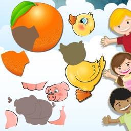 Toddler Animal Puzzle Games