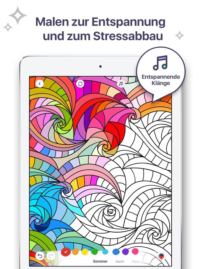 Schwedische traditionelle muster  Malbuch für mich im App Store
