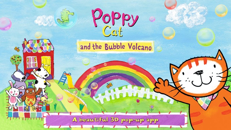 Poppy Cat and the Bubble Volcano