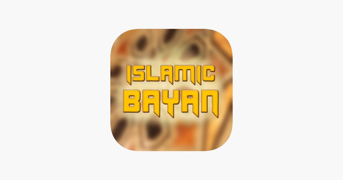 Islamic Bayan on the App Store