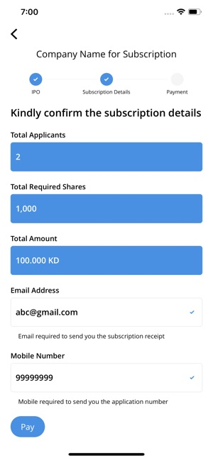 IPO Kuwait on the App Store