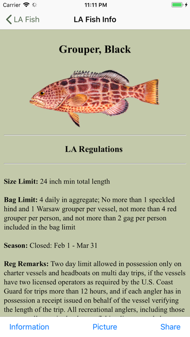 MS Saltwater Fishing Companion Screenshot