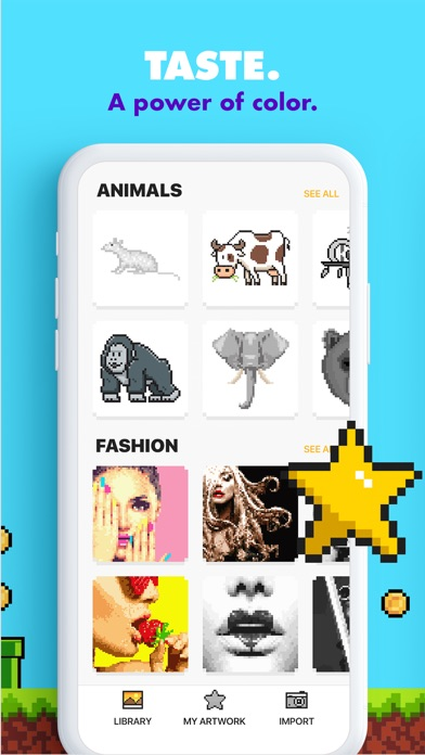 download UNICORN - Color by Number Game apps 2